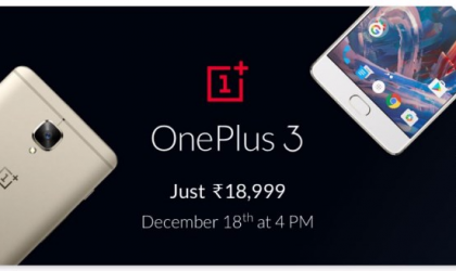 Flipkart OnePlus 3 Deal: Rs 18,999 price but no warranty