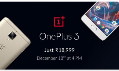 Flipkart OnePlus 3 Deal: Rs 18,999 price but no warranty