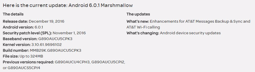 AT&T Galaxy S6 Active receives PK3 update, improves WiFi calling
