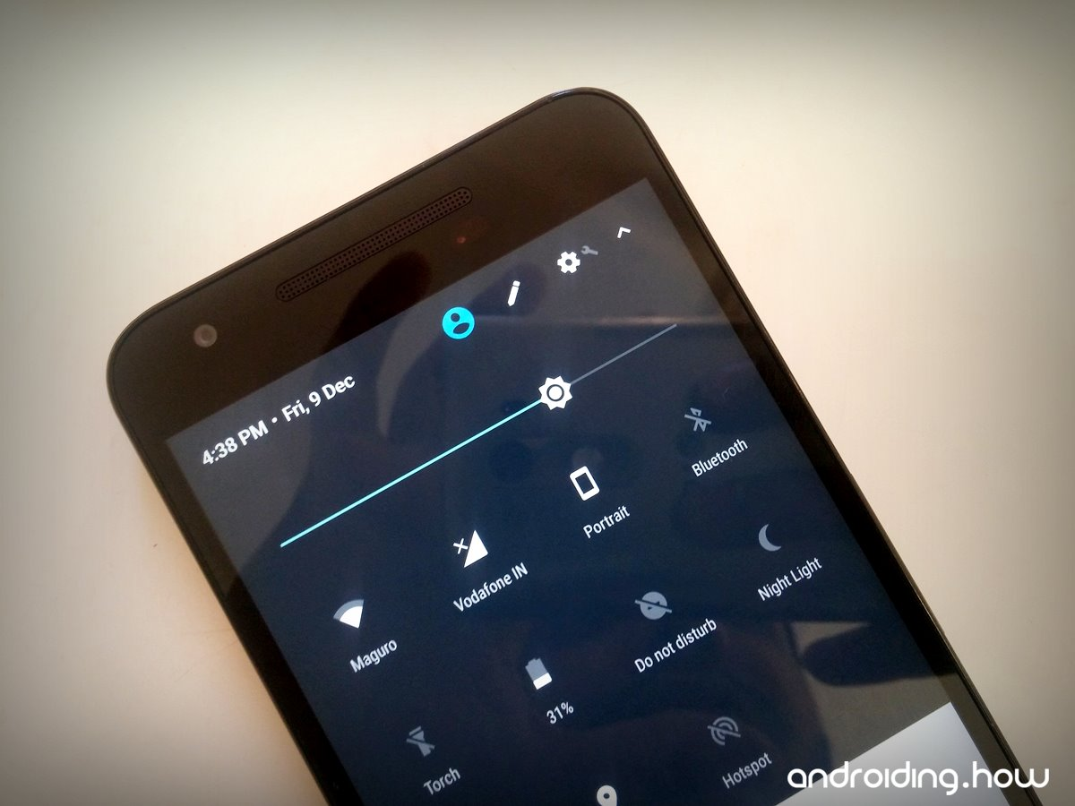 How to Enable Night Light and other MODs on Nexus 5X running Android