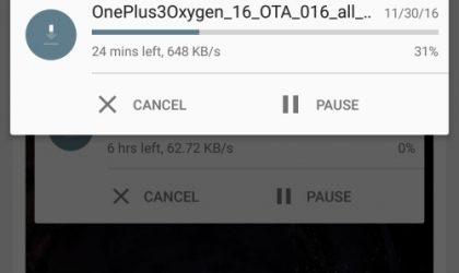 Download OnePlus 3 Open Beta 10 OTA/Full ROM Nougat update