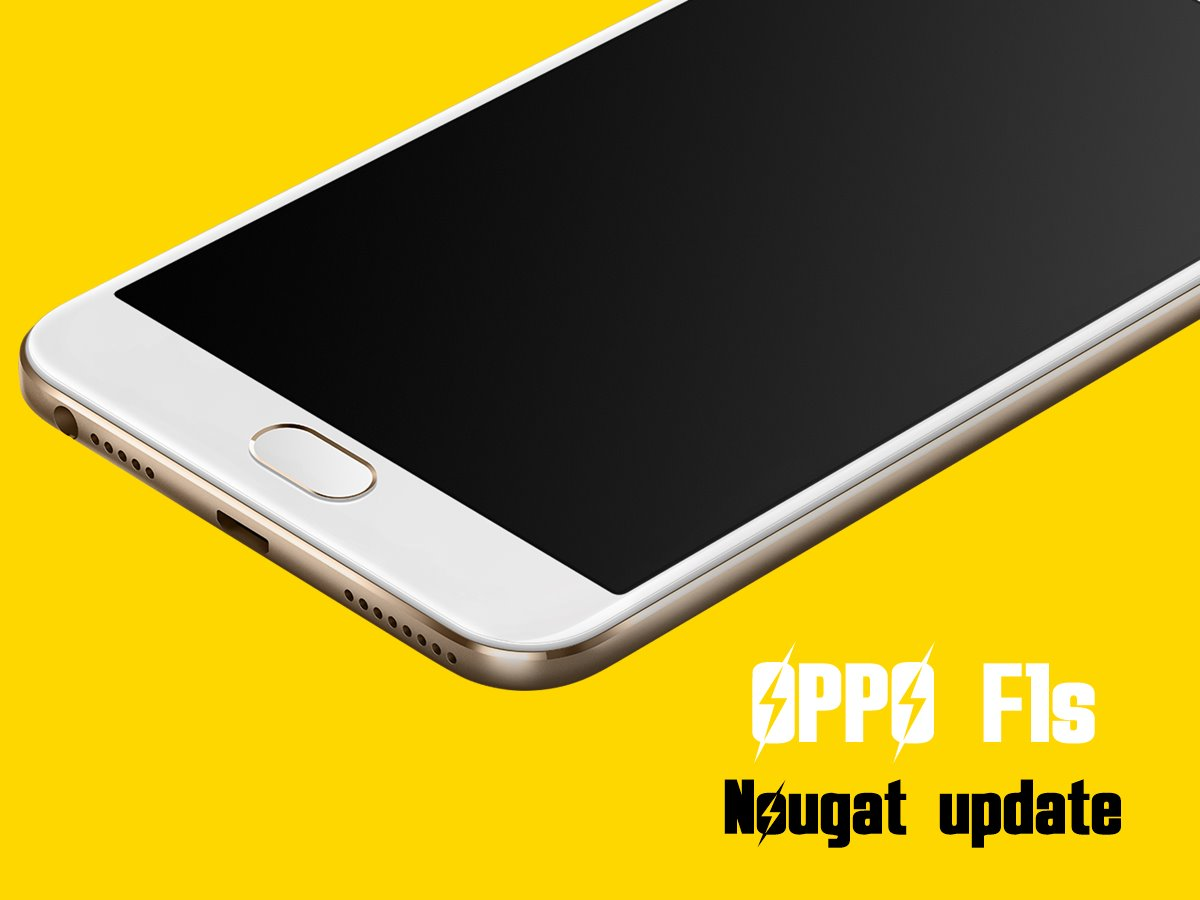 How To Update Oppo F1s To Nougat