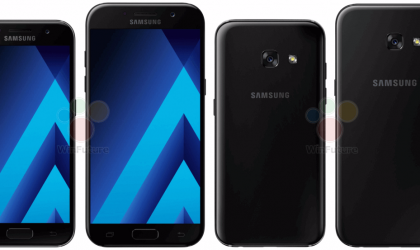 Samsung Galaxy A3 A5 and A7 2017 smartphones announced with IP68 dust and water proofing