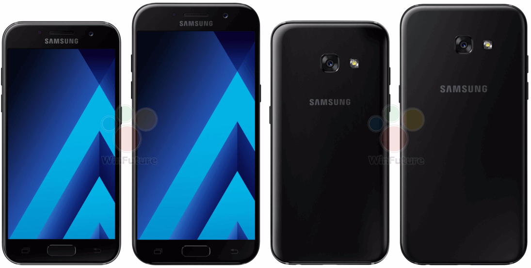 Samsung Galaxy A3 A5 And A7 2017 Smartphones Announced With IP68 Dust Water Proofing
