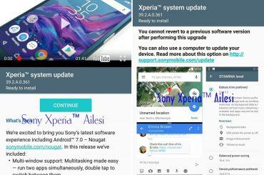 Xperia System Update