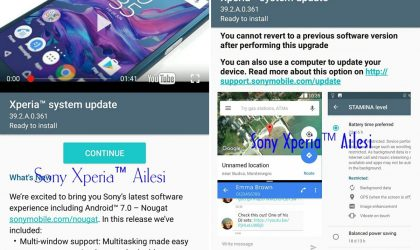Sony Xperia XZ and X Performance December Security Patch releases, firmware version 39.2.A.0.361