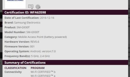 Android 7.0 Nougat update approved for US Galaxy S7 sets [AT&T, Sprint, T-Mobile, Verizon, US Cellular and Unlocked]