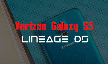Samsung Galaxy S5 (Verizon) receives unofficial Lineage OS 14.1