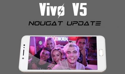 Vivo V5 Nougat update status and release date