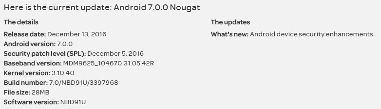 AT&T Nexus 6 receives another Android 7.0 Nougat update that installs December patch