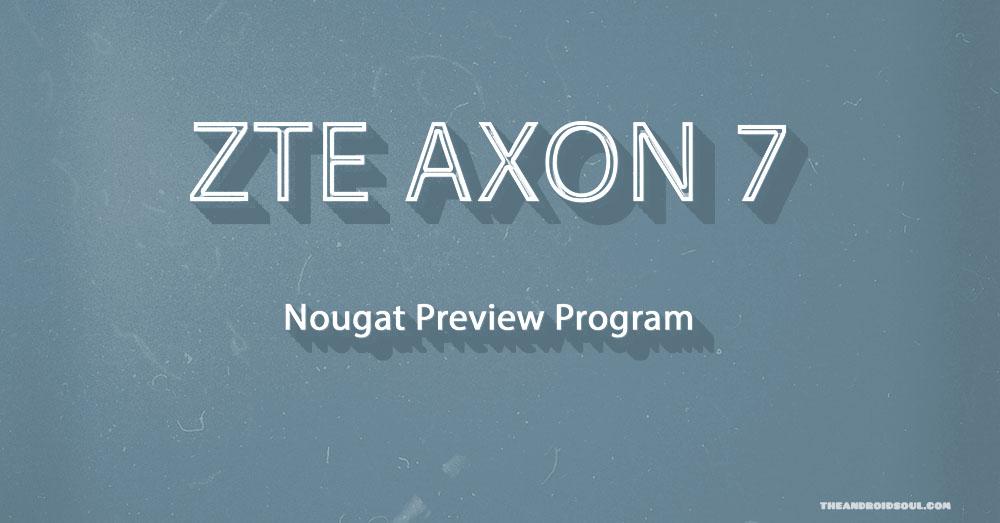 zte axon 7 nougat Smartphones