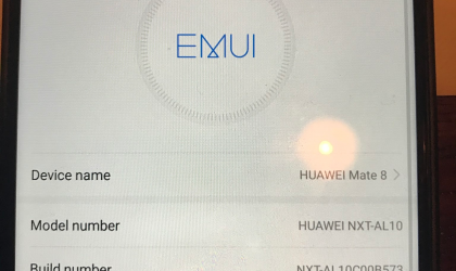 Huawei Mate 8 receives beta Nougat update with build B573 OTA