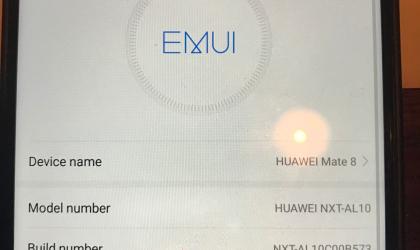 Huawei Mate 8 receives beta Nougat update with build B573 OTA