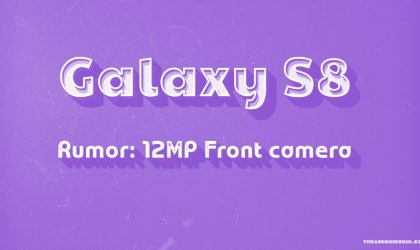 Galaxy S8 to sport 12MP front camera?