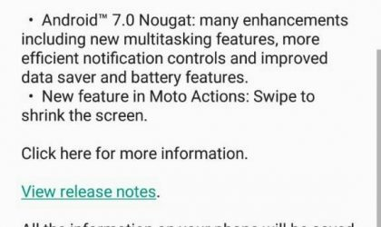 Android 7.0 Nougat update released for Moto G4 Plus in India, build NPJ25-93.11