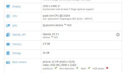 Nexus 6 spotted running Android 7.1.1 on GFXbench