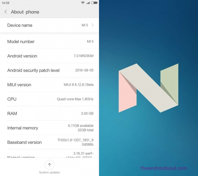 Download Xiaomi Mi5 Android 7 0 Nougat update [Fastboot ROM