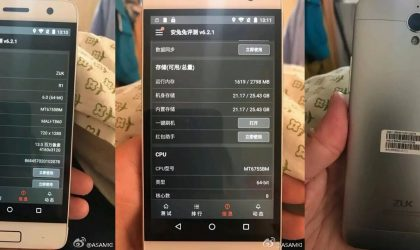 Lenovo ZUK R1 photos and specs revealed in leak!
