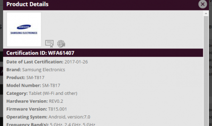 Samsung Galaxy Tab S2 Nougat update: Verizon begins roll out of April security patch