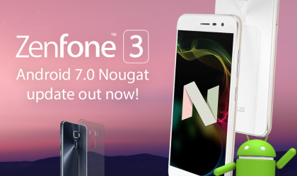 Android 7.0 Nougat update released for Asus Zenfone 3 [OTA rolling out]