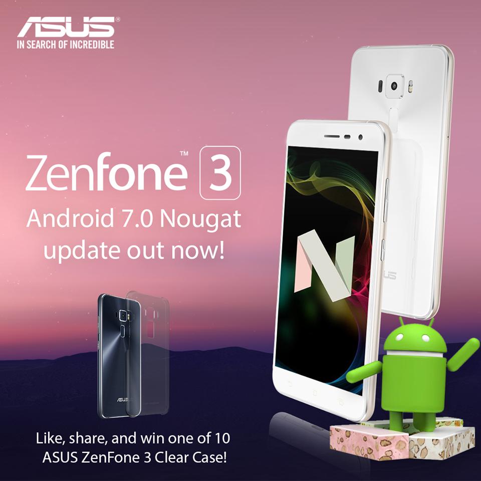 Zenfone 3 Nougat