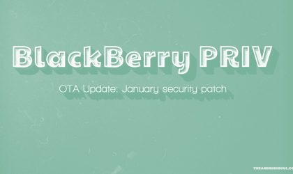 T-Mobile BlackBerry PRIV receiving update to build AAI459, brings January security patch