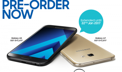 Galaxy A5 and A7 2017 pre-order extended to January 22 in Malaysia