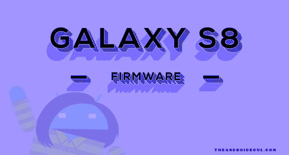 Galaxy S8 firmware download