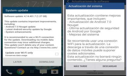 HTC One M9 Android 7.0 Nougat update released in Europe, starting with UK