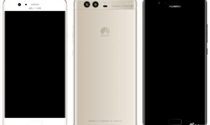 Latest Huawei P10 images leak show its front and back in full