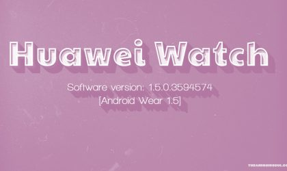 Huawei Watch receiving OTA update with January security patch, build M9E42C