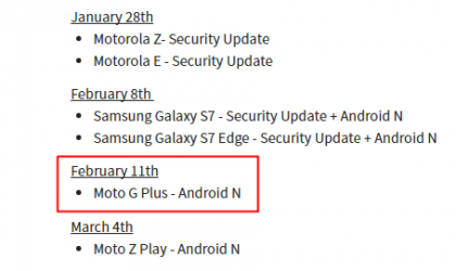 Moto G4 Plus Nougat update coming on February 11th in Canada, reveals Koodo