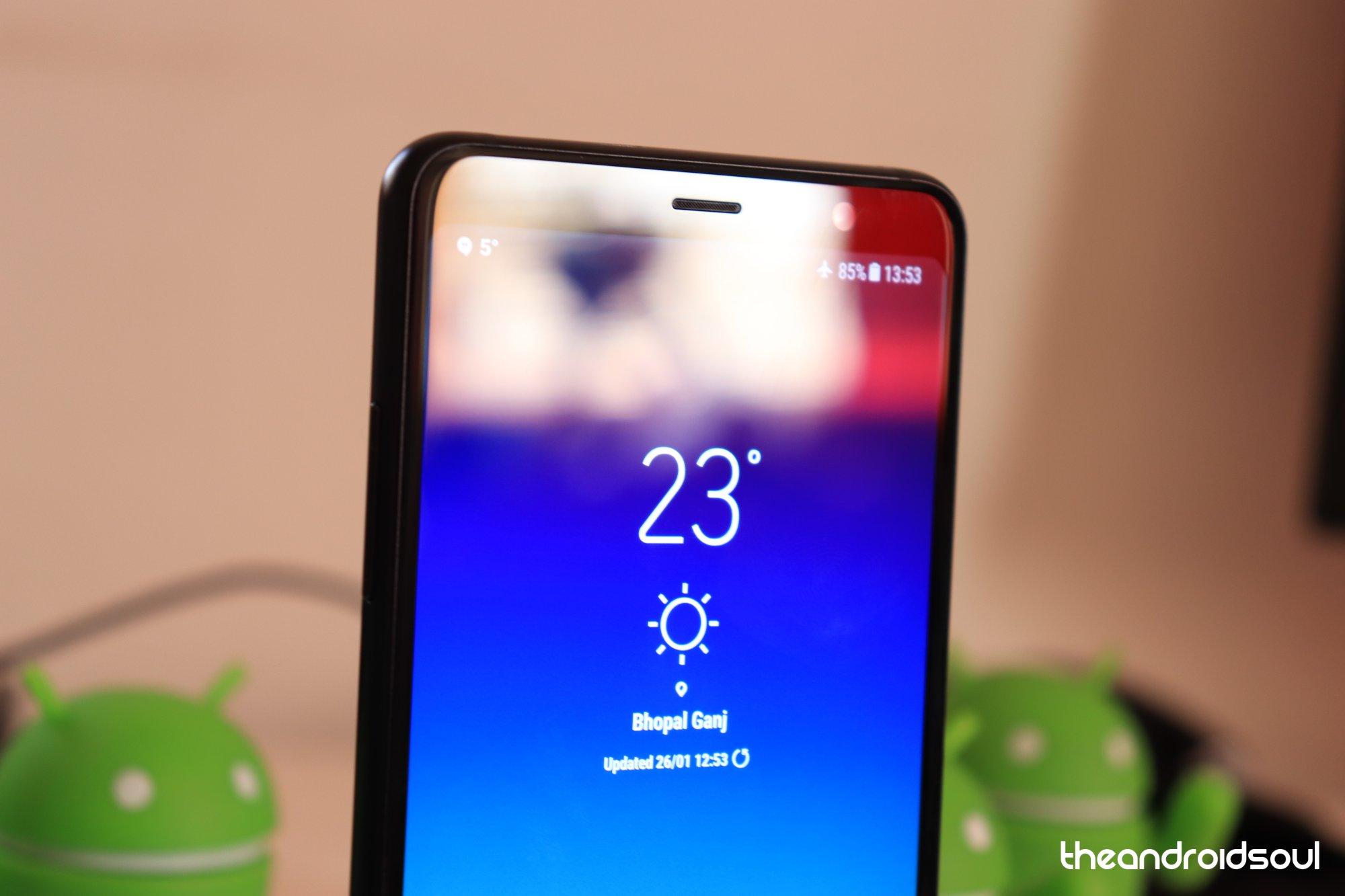 Samsung Galaxy A8 Plus phone