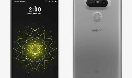 Verizon LG G5 OTA update rolling out with January security patch, build VS98727A