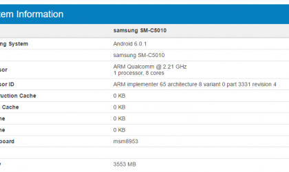 Samsung Galaxy C5 Pro launch nears as device hits Geekbench