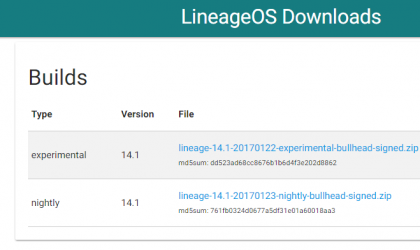 [Download] Lineage OS official build rolling out for Nexus 5X and 6P, and Nextbit Robin