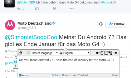 Moto G4 Android Nougat release in Germany set for January end