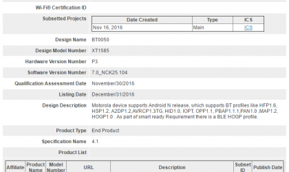 Moto X Force and Droid Turbo 2 Nougat update clears Bluetooth SIG