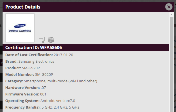 Sprint and Verizon Galaxy S6 Nougat update to release soon