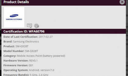 Galaxy S6 Edge Plus Nougat update should release soon, certified for AT&T, T-Mobile, Sprint and Verizon already