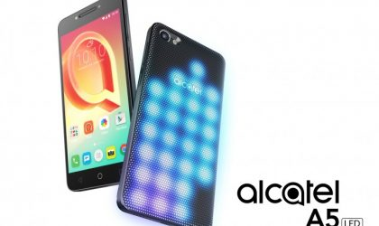 Alcatel A5 LED, A3 and U5 Android phones launched at MWC 2017