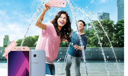 Samsung Malaysia launches Galaxy A5 and A7 2017 in pink and blue color, dubbed as Peach Cloud and Blue Mist