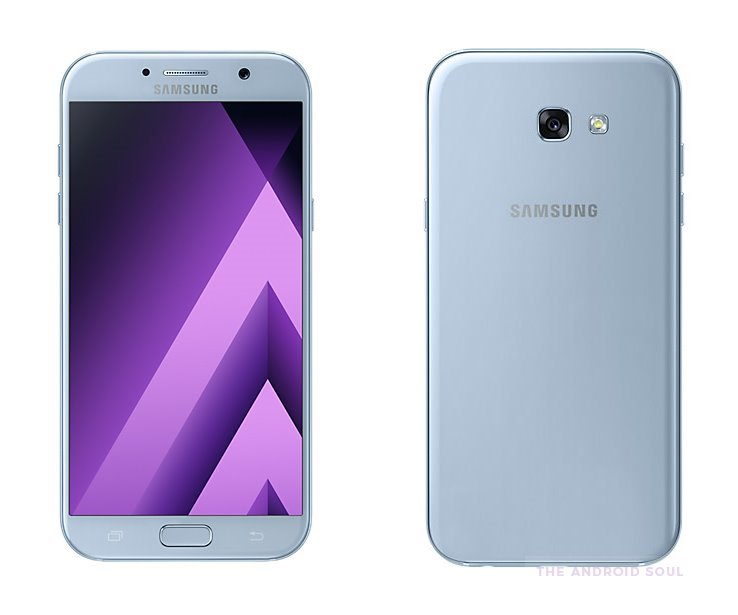 samsung galaxy a7 2017 and a5 2017 peach cloud pink and blue mist color options launched in. Black Bedroom Furniture Sets. Home Design Ideas