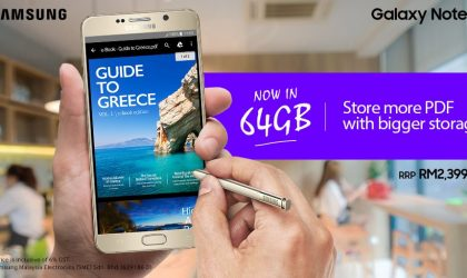 Samsung releases Galaxy Note 5 64GB in Malaysia