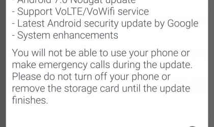 HTC 10 Nougat update releases in Australia, build 2.41.709.3