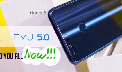 Huawei makes Honor 8 Android 7.0 Nougat update available for all in India