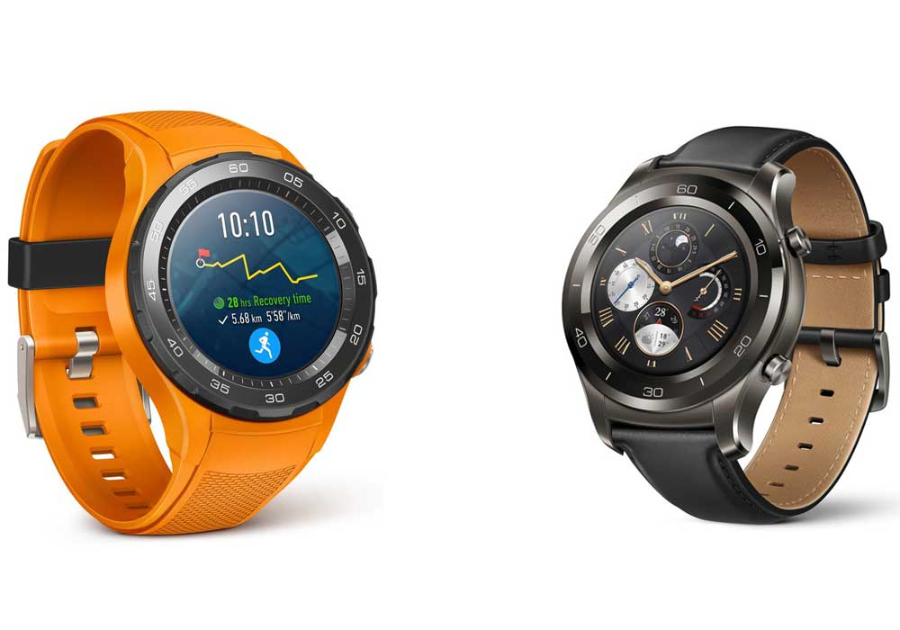 huawei launches watch 2 watch 2 classic and porsche. Black Bedroom Furniture Sets. Home Design Ideas