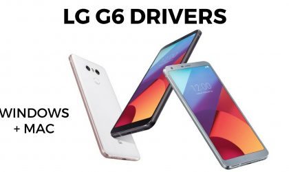 Download LG G6 driver for Windows PC and Mac