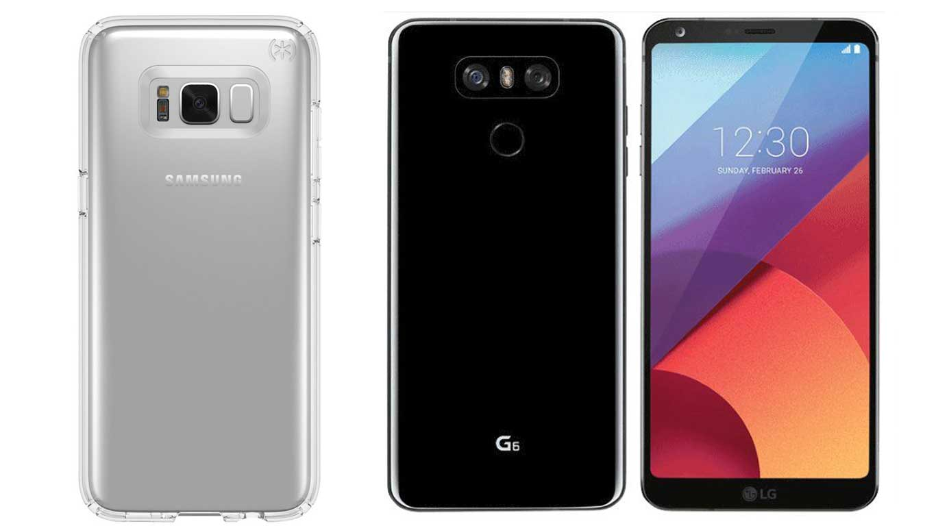 LG G6 to go on sale from March 10th, Samsung Galaxy S8 ...