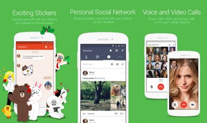 LINE 7.2.1 update brings new filters and effects to video calling